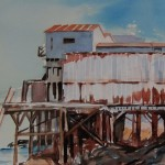 Cannery Row-Watercolor-12 x 16
