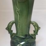 Leaping Fish Pot - ceramic