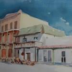 I.O.O.F., 1954 -Watercolor -10x14