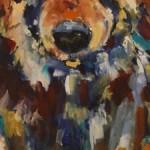 Impressionistic Eyes -Watermedia -24x8