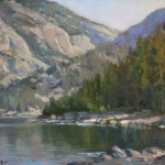 Morning at Pinecrest -Oil -9x12