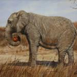 Pumpkin Eater -Acrylic -6x8