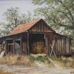 Rehorse Barn-Acrylic-9x12