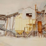 Sand Plant Symphony - Watercolor - 22x28