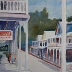 Main Street, Sutter Creek -Watercolor -10x14