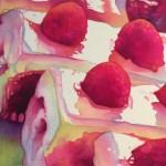 Parisian Pastries- watercolor- 10x10