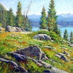 High Country View -oil -12x16