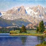 June Lake Morning -oil -18x24