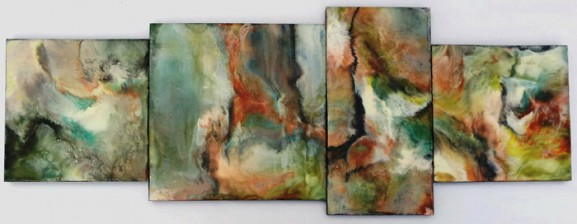 BASIC ENCAUSTICS WITH SUZANNE BELL @ Petroglyphe Gallery | Mokelumne Hill | California | United States