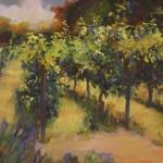 Light on the Vines-Oil-18x20