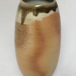 Cylinder Vase - wood fired ceramic