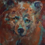 Old Sage Bear -watercolor -22x19