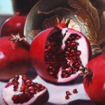 Pomegranates -Oil -12x16