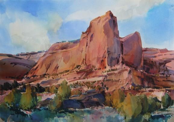 Red Rock Cloud-scraper