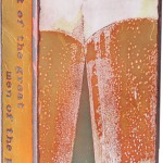 Fine Craft -fused glass & copper -8.5x5.25