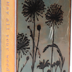 Wild Child -fused glass & copper -8.5x5.25