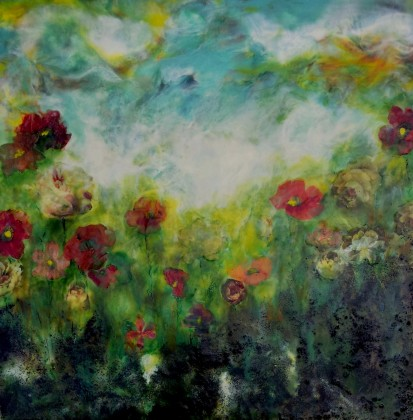 1 Day Workshop: Encaustic Painting, Texture & Collage @ Petroglyphe Gallery | Mokelumne Hill | California | United States