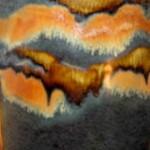 Cascadia - Goldstone Glaze Sample