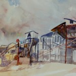 Abandoned - Watercolor - 12x16
