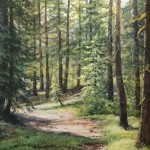 Bell Meadow -Acrylic -8x10