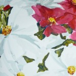 Cosmic Flowers-Watercolor-14 x 11