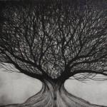 Landscape 5-Etching Print-8x8