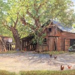 Ratto Ranch -acrylic -10x16