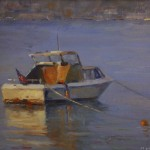 Securely Moored -Oil -8x10