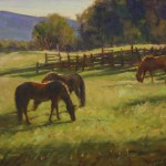 Spring Grazing- Oil- 12 x 16