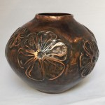 Flower Pot, Too - copper vessel