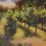 Light on the Vines-Oil-18x20