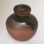 Ginger Jar - wood fired ceramic