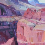 Canyon Shadows -Oil -36x24