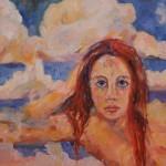 Head in Maynard's Clouds -Oil -24x36