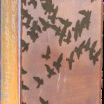 Aloft -fused glass & copper -8.5x5.25