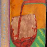 Liquid Sunshine -fused glass & copper -8.5x5.25