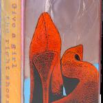 Ms. fused glass & copper -8.5x5.25