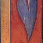 Turner Heart -fused glass & copper -8.5x5.25
