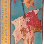 Turning Point fused glass & copper -8.5x5.25-