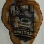 Diamond Dyes -framed 10x8 -photo stone